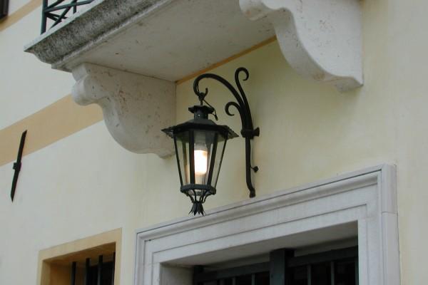 Applique ferro battuto esterno applique da parete in ferro